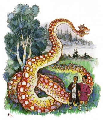Змеиный след читать онлайн