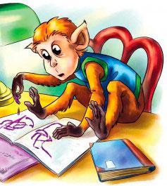 Учёная обезьянка читать онлайн